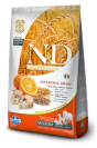 N&D GRAIN FREE POTIRON POISSON & ORANGE ADULTE médium et maxi